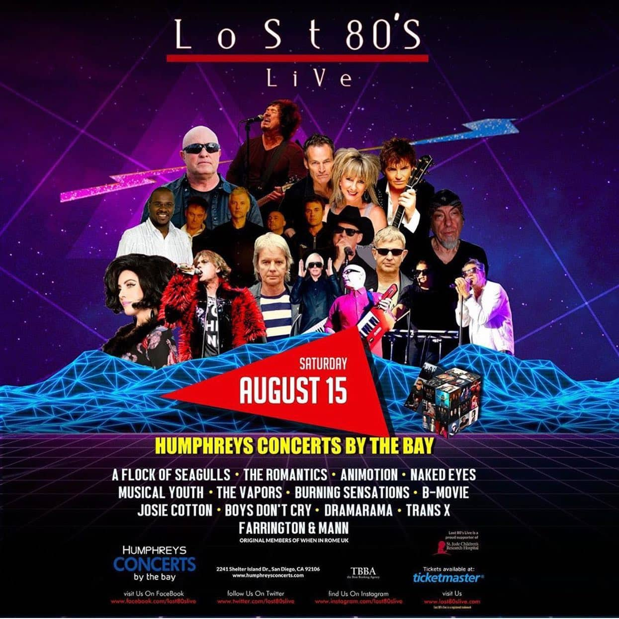 Lost 80s Live: San Diego, CA