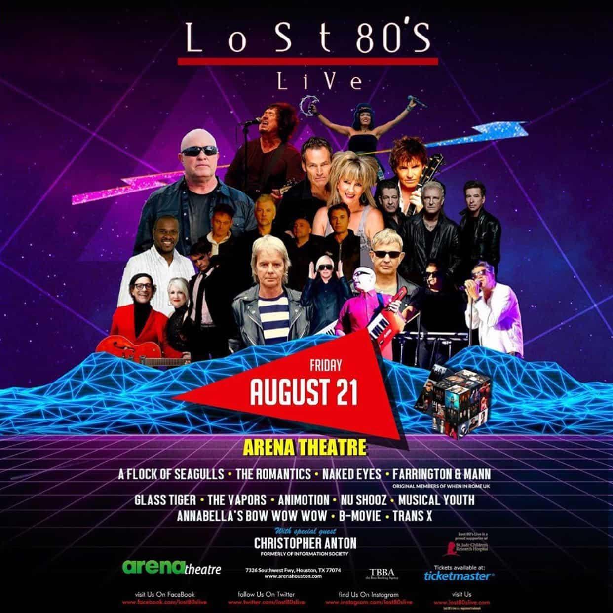 Lost 80s Live: Houston, TX