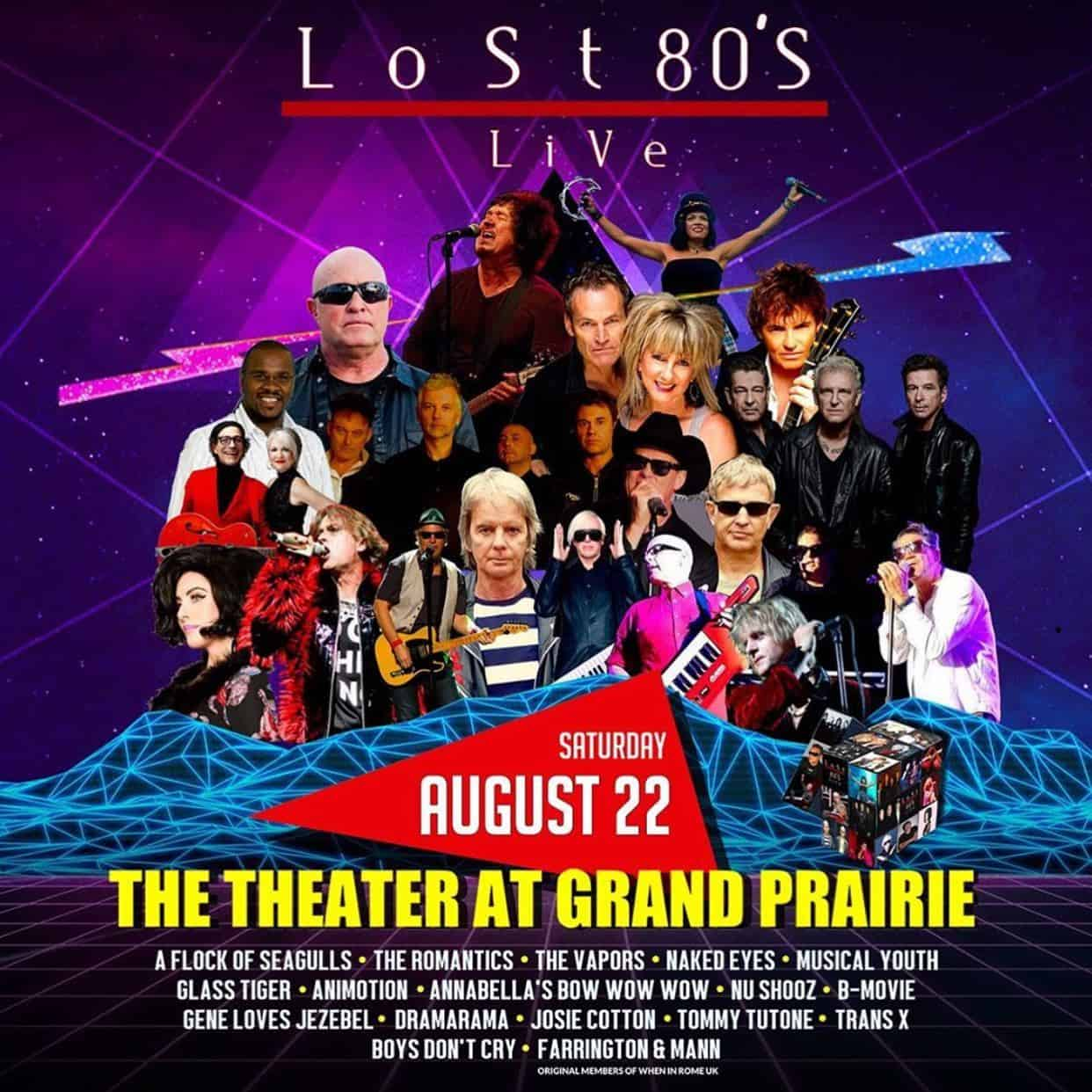 Lost 80s Live: Grand Prarie, TX