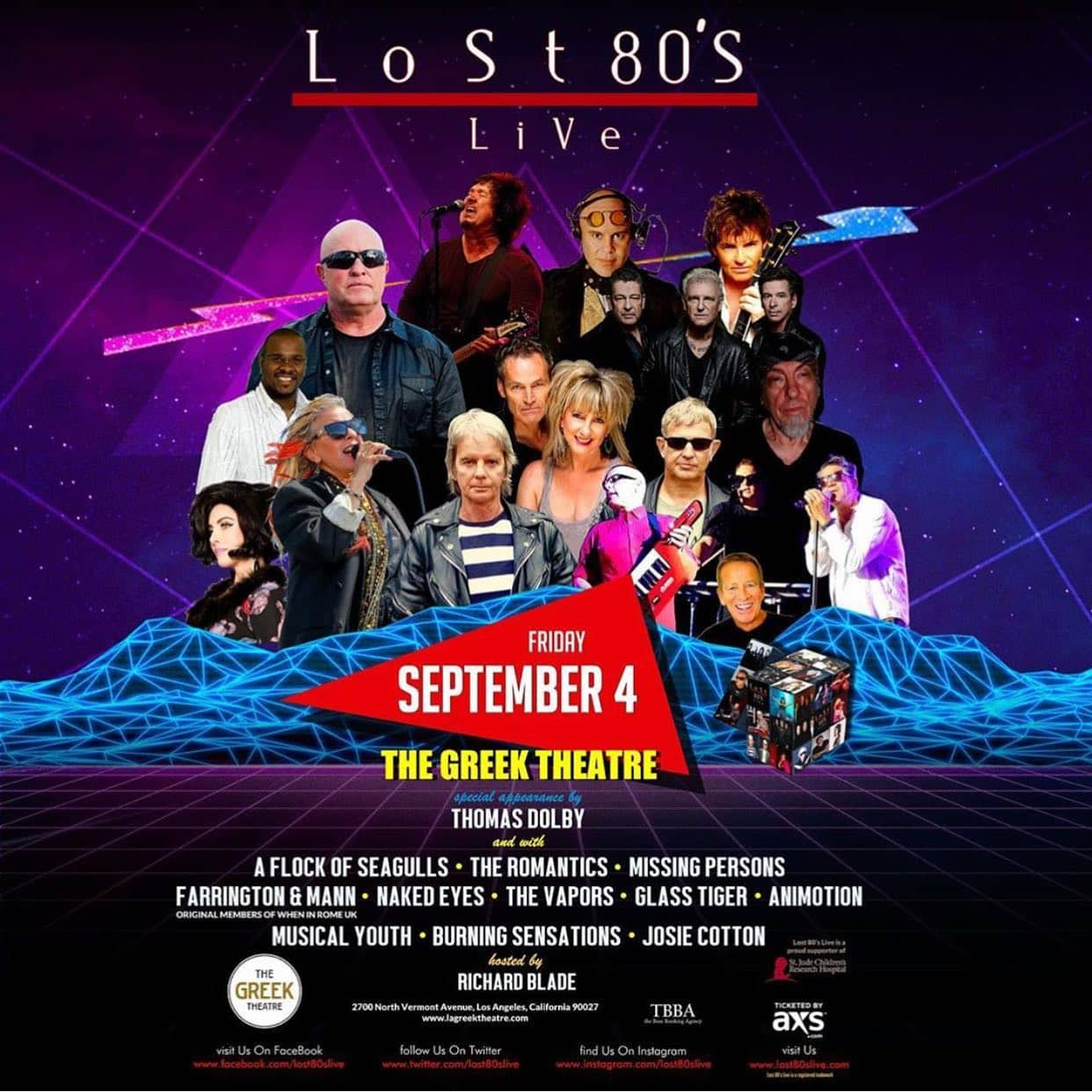 Lost 80s Live: Los Angeles